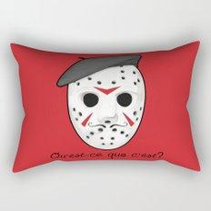 Psycho Killer Rectangular Pillow