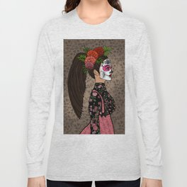 Rosa Maria on the Day of the Dead Long Sleeve T-shirt