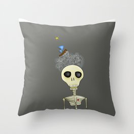 Sailing death Throw Pillow