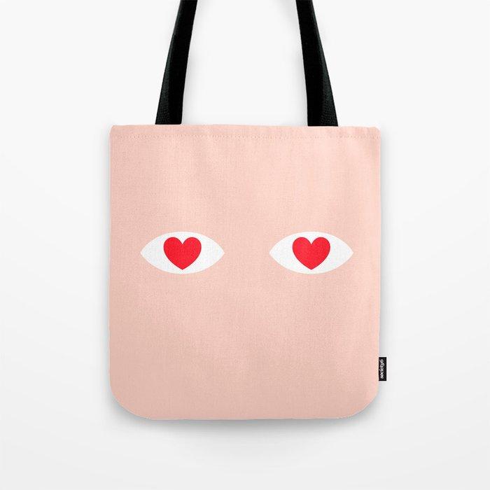 EYES 4 U ONLY Tote Bag
