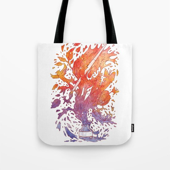 draw itself Tote Bag