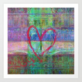For when the segmentation resounds, abundantly. 14 Art Print
