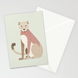 Whimsical Cheetah Stationery Cards