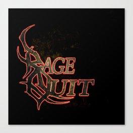 Rage Quit Canvas Print