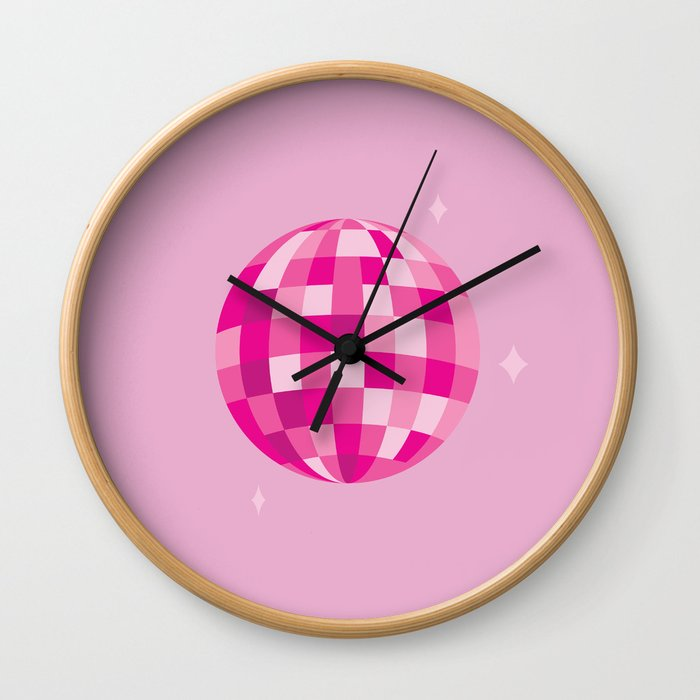 Disco Dreams Wall Clock