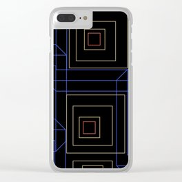 Boxed In Clear iPhone Case