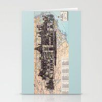 north carolina Stationery Cards featuring North Carolina by Ursula Rodgers