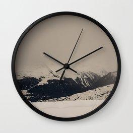 Mont Blanc vintage Wall Clock