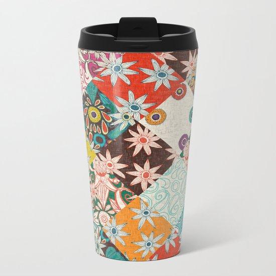 sarilmak patchwork Metal Travel Mug
