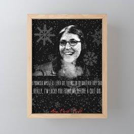 Amy Farrah Fowler Framed Mini Art Print