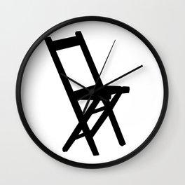 chair Wall Clock