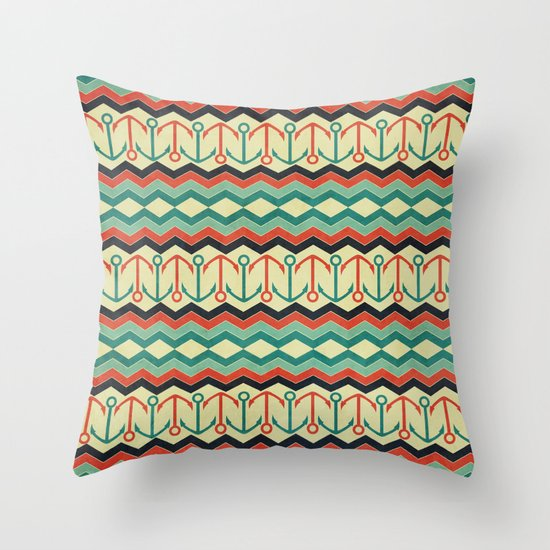 Ocean Adventure West Throw Pillow