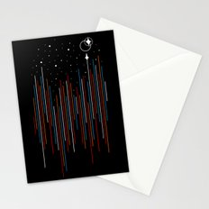 Through The Cosmic Rays Stationery Cards