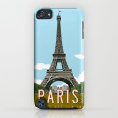 Paris 2 Travel Poster Slim Case iPod touch