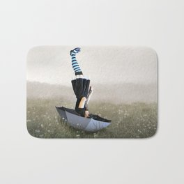 Umbrella melancholy Bath Mat