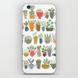 Teacup Garden iPhone Skin