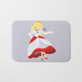 Princess Peach(Smash)Fire Bath Mat
