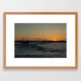 Muskoka Night Framed Art Print