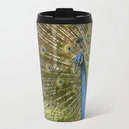 Peacock. Travel Mug