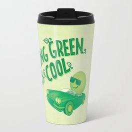 Being Green is Cool Travel Mug