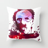 hannibal Throw Pillows featuring Hannibal by BIG Colours