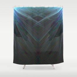 Deep Sea Rays Shower Curtain