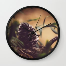 Coeur of the Forest Wall Clock