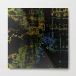 Deluminated Metal Print