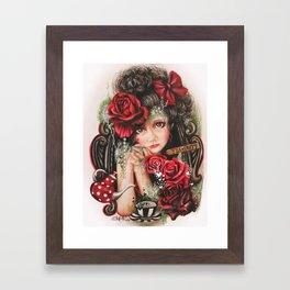 Tea Pretty Please? Framed Art Print