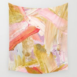 Shiloh - Abstract Contemporary Brushstrokes Wall Tapestry