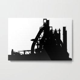 Bethlehem Steel Foundry Metal Print