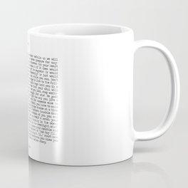 Live. Coffee Mug