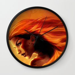 Boudicca Celtic Warrior Queen of the Iceni Wall Clock