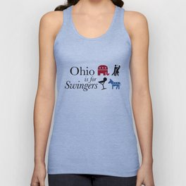 Ohio is for Swingers Unisex Tank Top