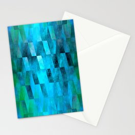 Stacked Sky (blue) Stationery Cards