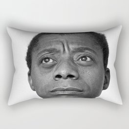 James Baldwin Rectangular Pillow