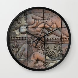 indian art Wall Clock