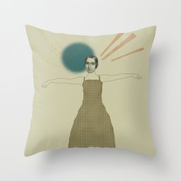 My pictures of you Throw Pillow