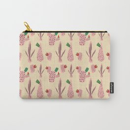 Mid Mod Cactus Pink Carry-All Pouch