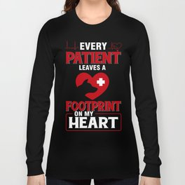 Cute Gift For Veterinarian From Kids. Long Sleeve T-shirt