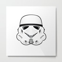 Stormtrooper Have A Nice Day (No Lettering) Metal Print