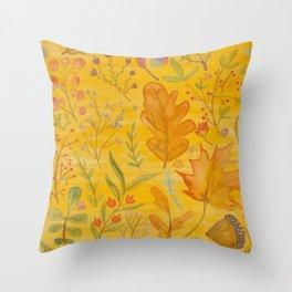 Autumn Blend Throw Pillow