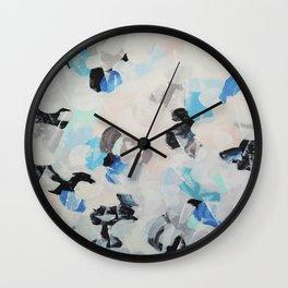 Abstract painting 2 Wall Clock