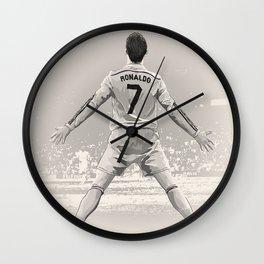 Cristiano Ronaldo - Real Madrid RMFC Wall Clock