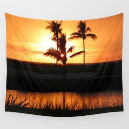 Beautiful Sunset Wall Tapestry