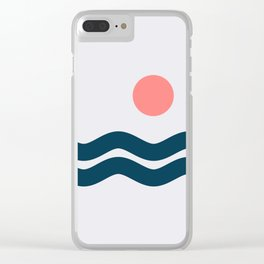 Nautical 06 No.1 Clear iPhone Case