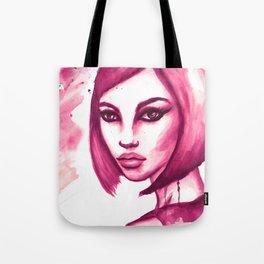 Pink hair  Tote Bag