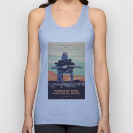 Torngat Mountains National Park Poster Unisex Tank Top