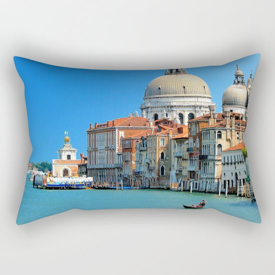 One day in Venice Rectangular Pillow