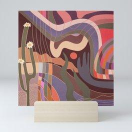 Desert breeze Mini Art Print